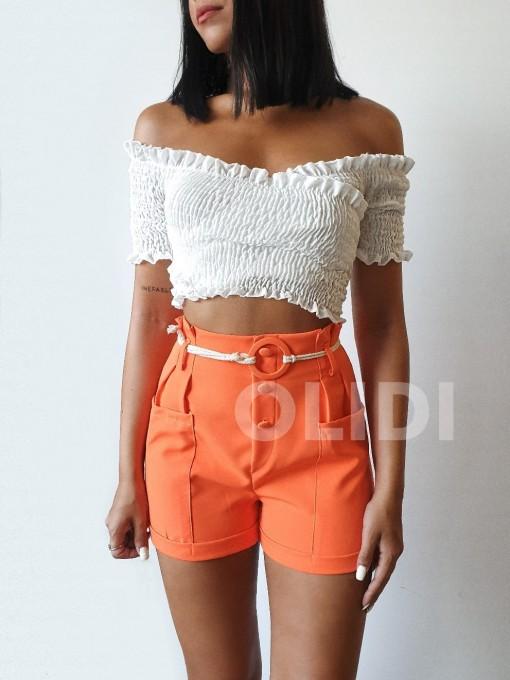 Short Eloisa - Naranja
