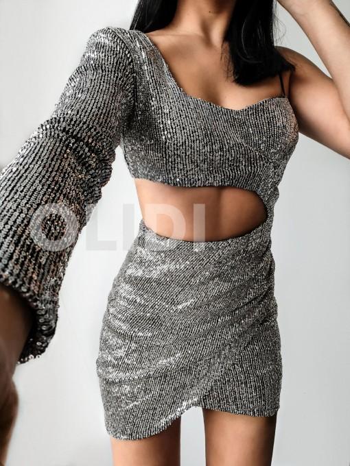 Vestido Sienna - Plata