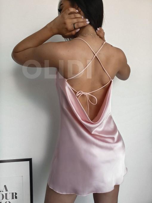 Vestido Lissa - Rosa palo