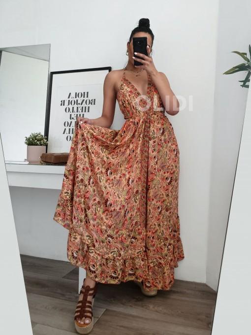 Vestido Menorca - Rojo