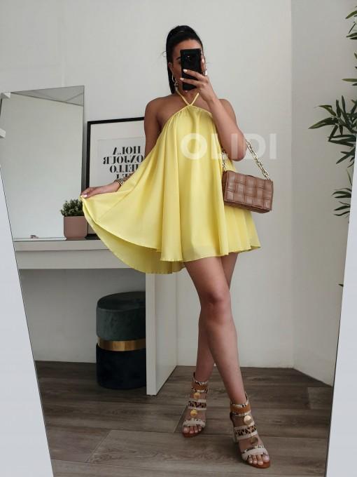 Vestido Laura - Amarillo