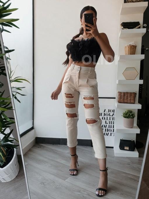 Pantalon Noelia - Beige