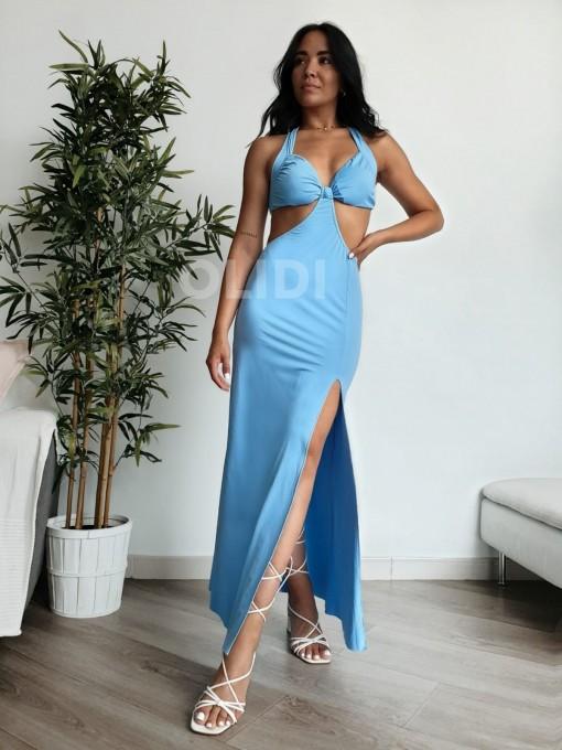 Vestido Milan - Azul celeste