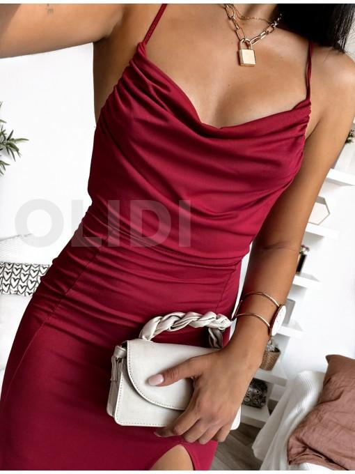 Vestido Pretty - Granate