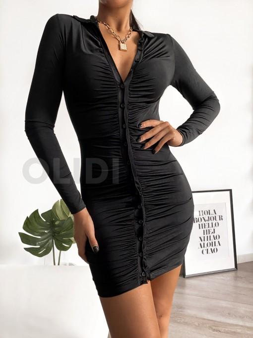 Vestido Wanda - Negro