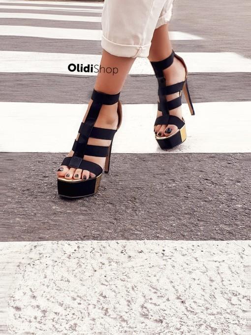 Zapatos Rosella - Dorado